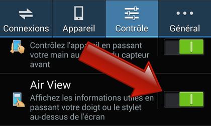 Comment activer Air View sur les Samsung Galaxy ?