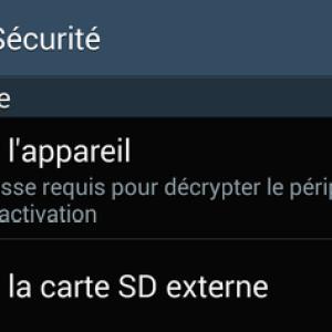 Comment «crypter» (chiffrer) les données de son appareil Android ?