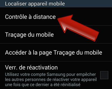 Comment contrôler à distance son Samsung Galaxy ?