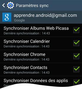 Comment synchroniser le carnet d'adresses Google sur Android ?