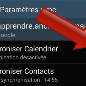 Comment activer et désactiver la synchronisation automatique des données sur Android ?