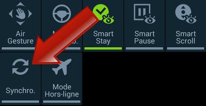 Comment stopper la synchronisation des données sur Android ?