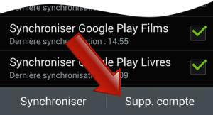 Comment supprimer un compte Google sur Android ?