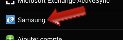 Comment paramétrer le compte Samsung sur son Galaxy ?