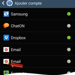 Comment gérer ses comptes dans les paramètres sur Android ?