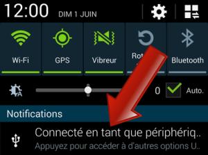 MTP et PTP sur Android