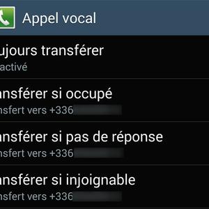 Comment activer et désactiver le transfert d'appel sur Android ?