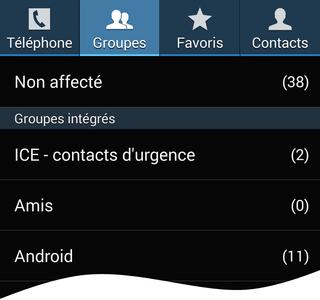 Comment créer des groupes de contacts sur Android ?