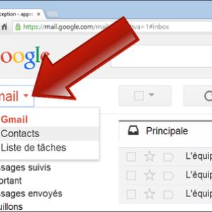 Comment accéder au carnet d'adresses Gmail ?