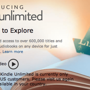 Amazon officialise Kindle Unlimited pour les mordus de littérature