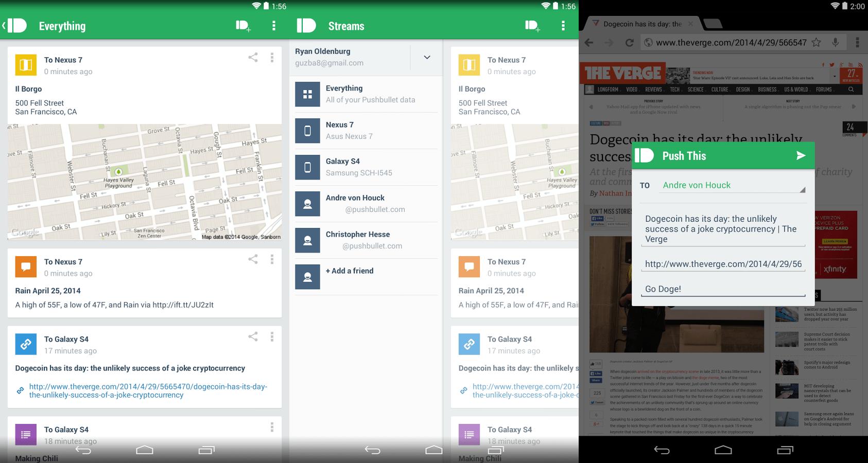 Pushbullet : une application pratique pour lier ordinateur, téléphone et navigateur
