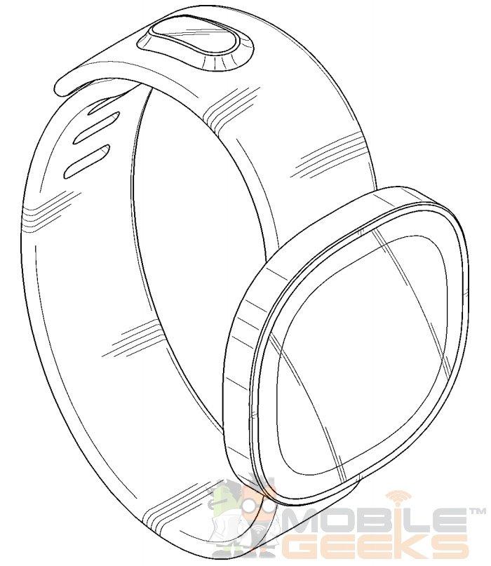 Samsung Gear S : un brevet pour de futures montres rondes ?