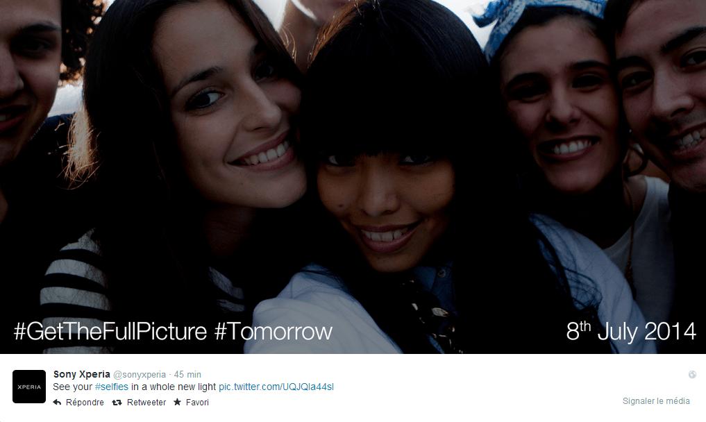 Sony prépare un smartphone dédié aux selfies