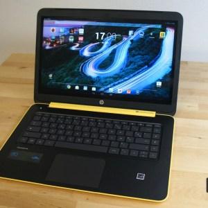 Test du HP SlateBook 14, un ordinateur portable sous Android