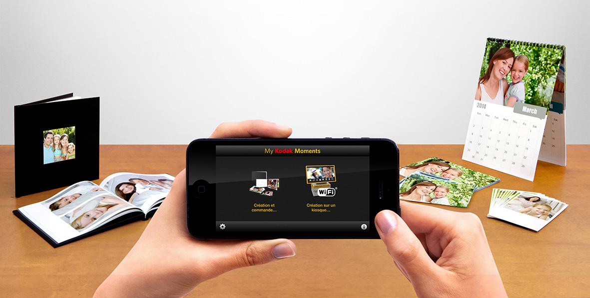 Kodak dévoile ses applications Moments pour relancer l'impression de photos