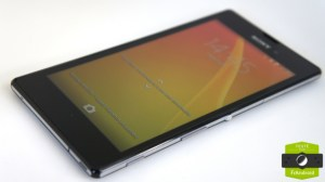 Test du Sony Xperia T3, le compromis design