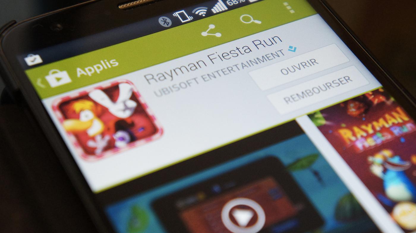 Des applications remboursables dans un délai de 2 heures sur le Play Store ?