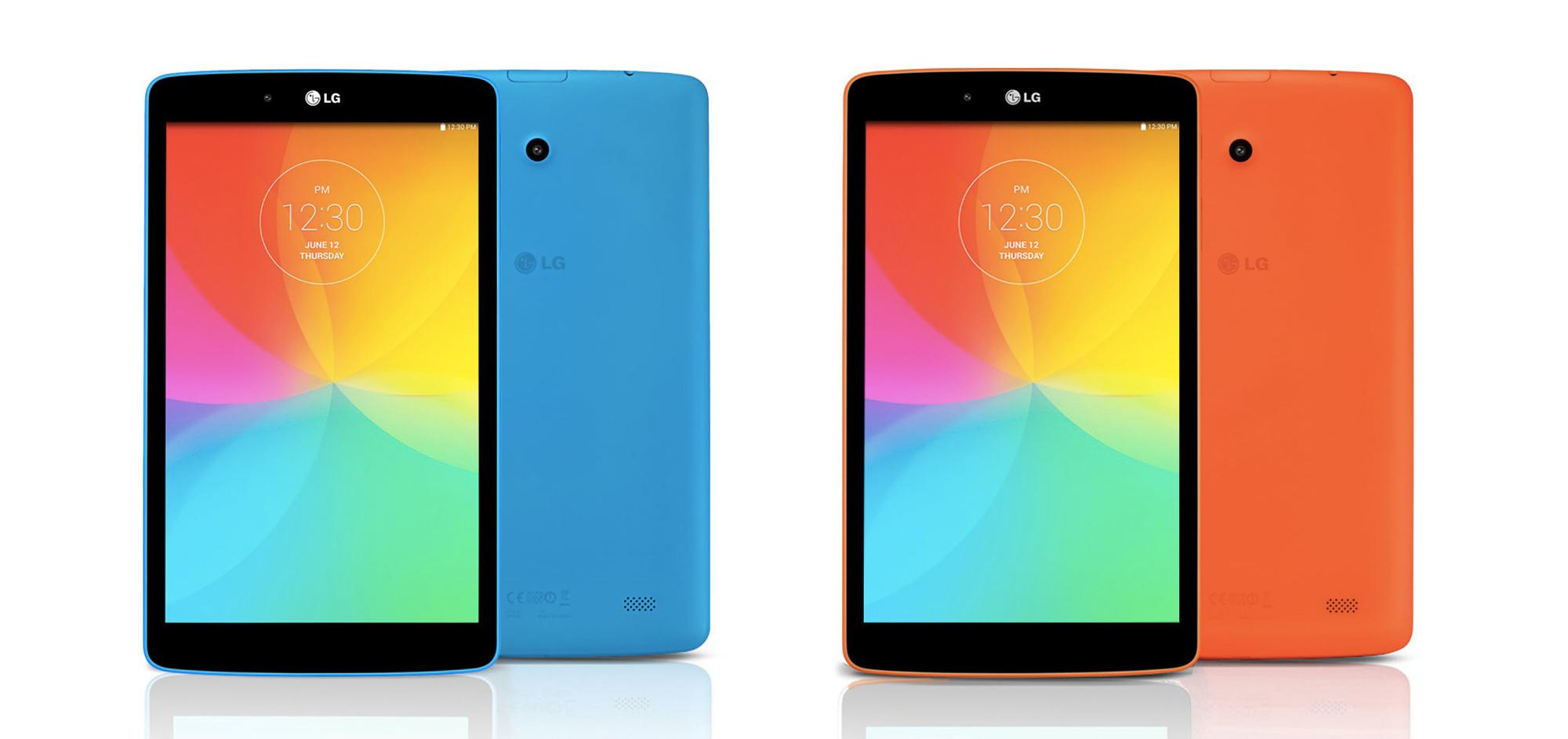 LG annonce sa G Pad 8.0 (LTE) compatible 4G : pas de prix mais une sortie imminente