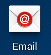 Fonctionnement de l'application Email sur Android
