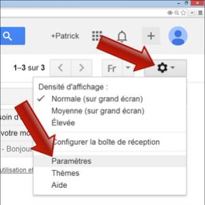 Comment configurer Gmail avec l'application Email sur Android ?