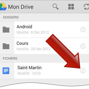 Comment imprimer avec Google Drive sur Android ?