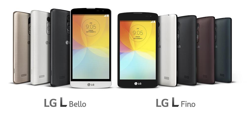L Fino et L Bello : les derniers L Series de LG ont comme un air de G3