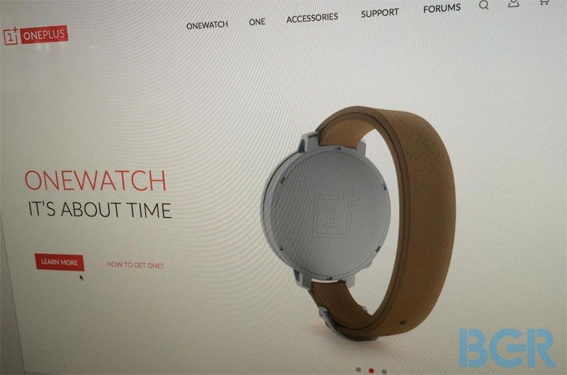 OneWatch : la montre connectée de OnePlus, vraiment ?