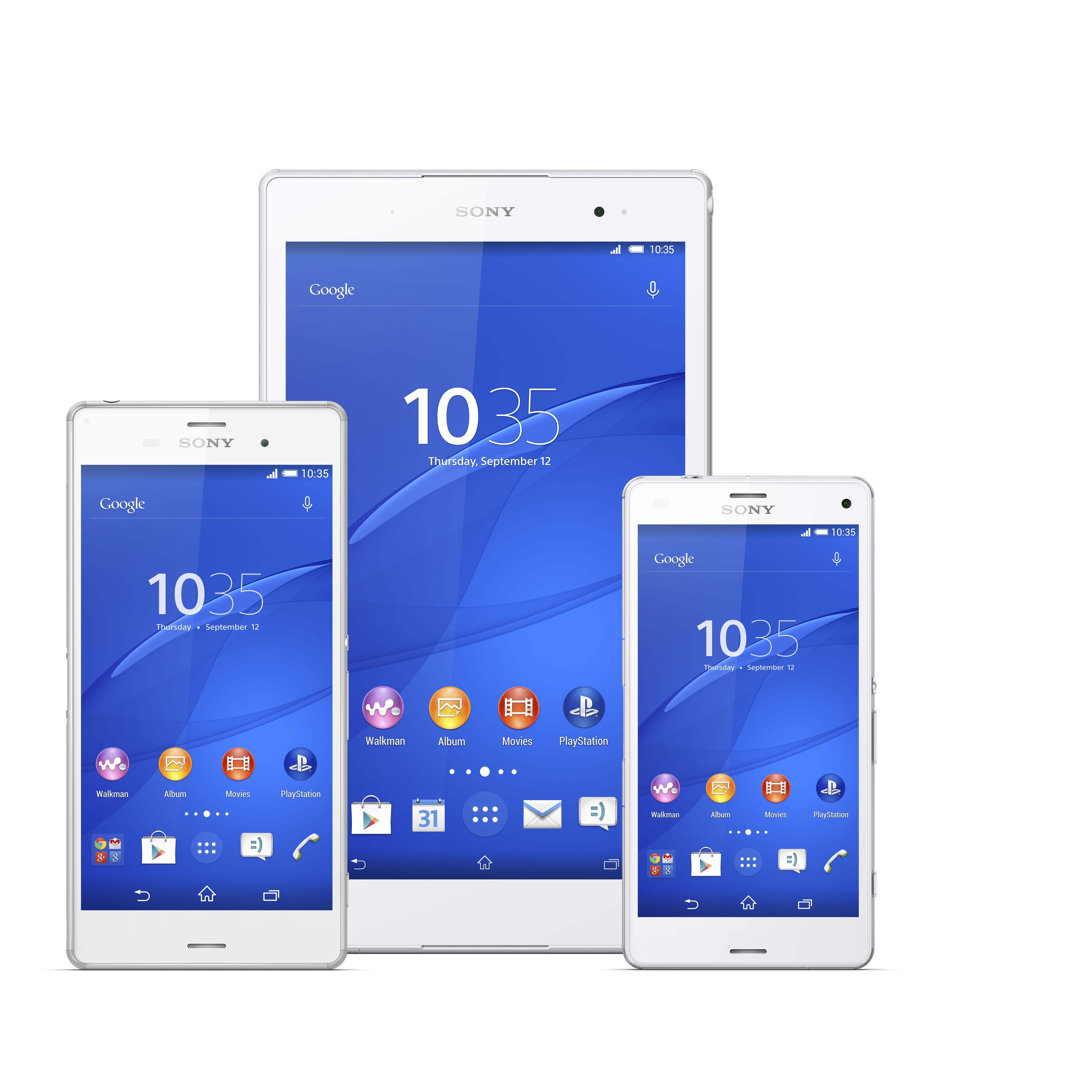 Sony dévoile la gamme Xperia Z3 : Z3, Z3 Compact et la Z3 Tablet Compact