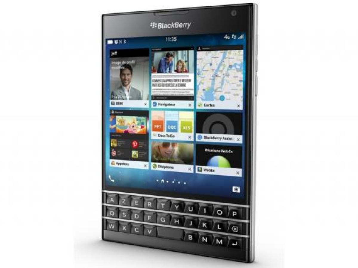 BlackBerry Passport, le smartphone à l'écran carré avec l'AppStore d'Amazon