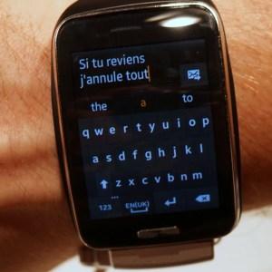 Gear S : la montre 3G de Samsung disponible cet automne