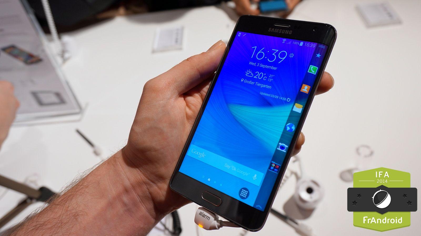 Prise en main du Galaxy Note Edge : la surprise innovante de Samsung
