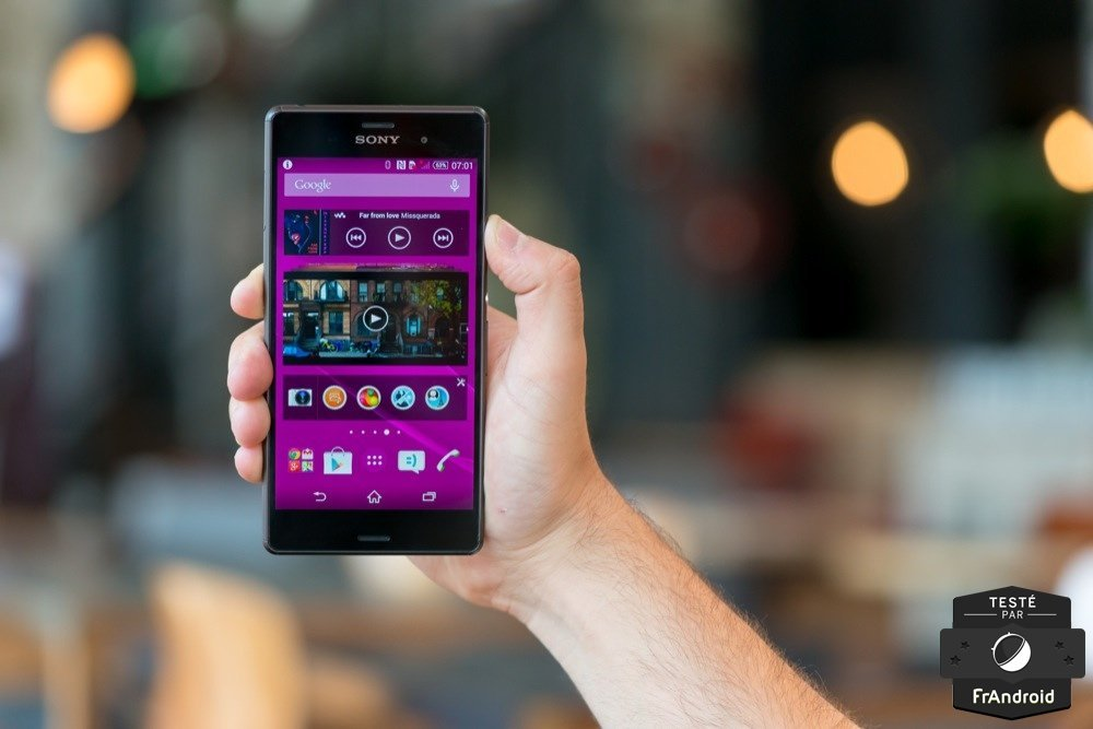 Test du Sony Xperia Z3, la quête de la perfection