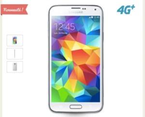 Le Samsung Galaxy S5 4G+ est désormais disponible en France !