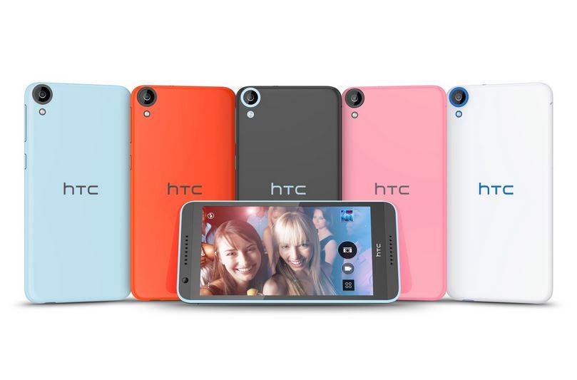Le HTC Desire 820 pose le pied en Europe