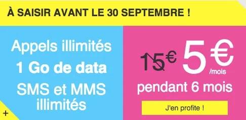 Joe Mobile lance une nouvelle promo : pour 5 euros, 1 Go de data et les appels illimités