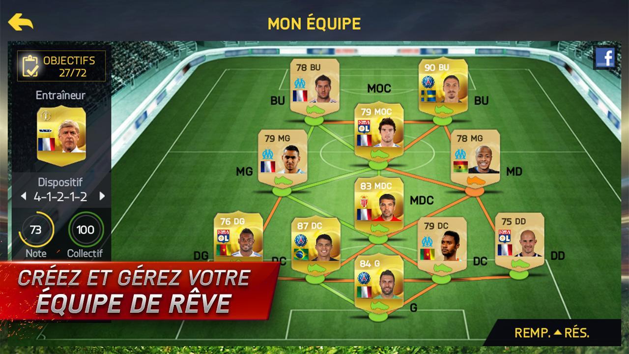 FIFA 15 Ultimate Team est disponible sur Android