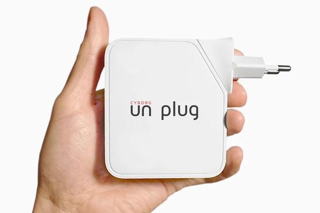 Cyborg Unplug : le bouclier de défense sans fil, anti Google Glass !