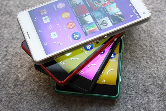 Sony Xperia Z3 Compact montre en photos ses nouvelles couleurs