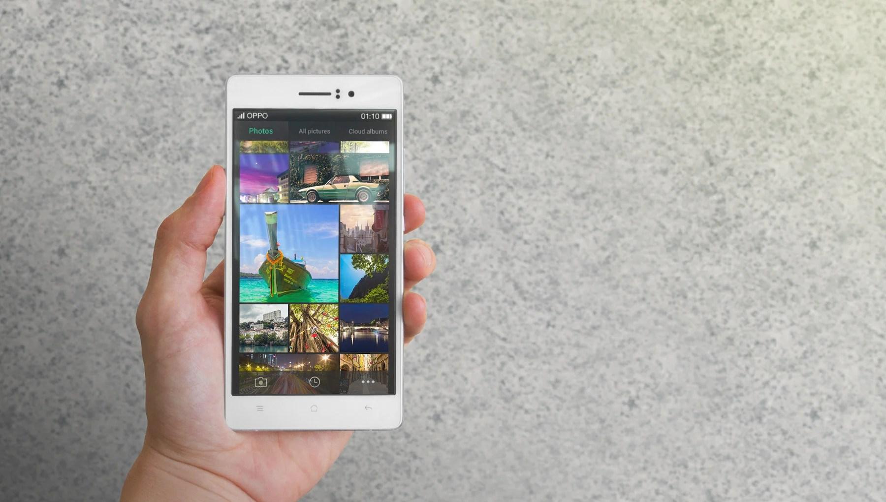 Oppo R5 : c'est lui, le smartphone le plus fin du monde