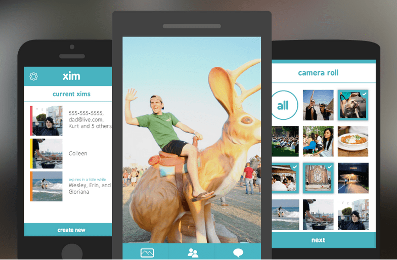 Xim : Microsoft lance une application universelle de partage de photos