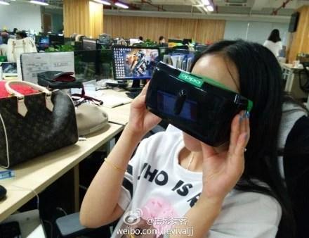 Oppo montre son casque de réalité virtuelle : le compagnon du N3 ?