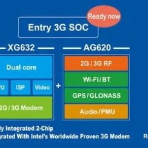 Rockchip XMM6321 : une puce dual-core ARM avec un modem Intel 3G pour l'entrée de gamme