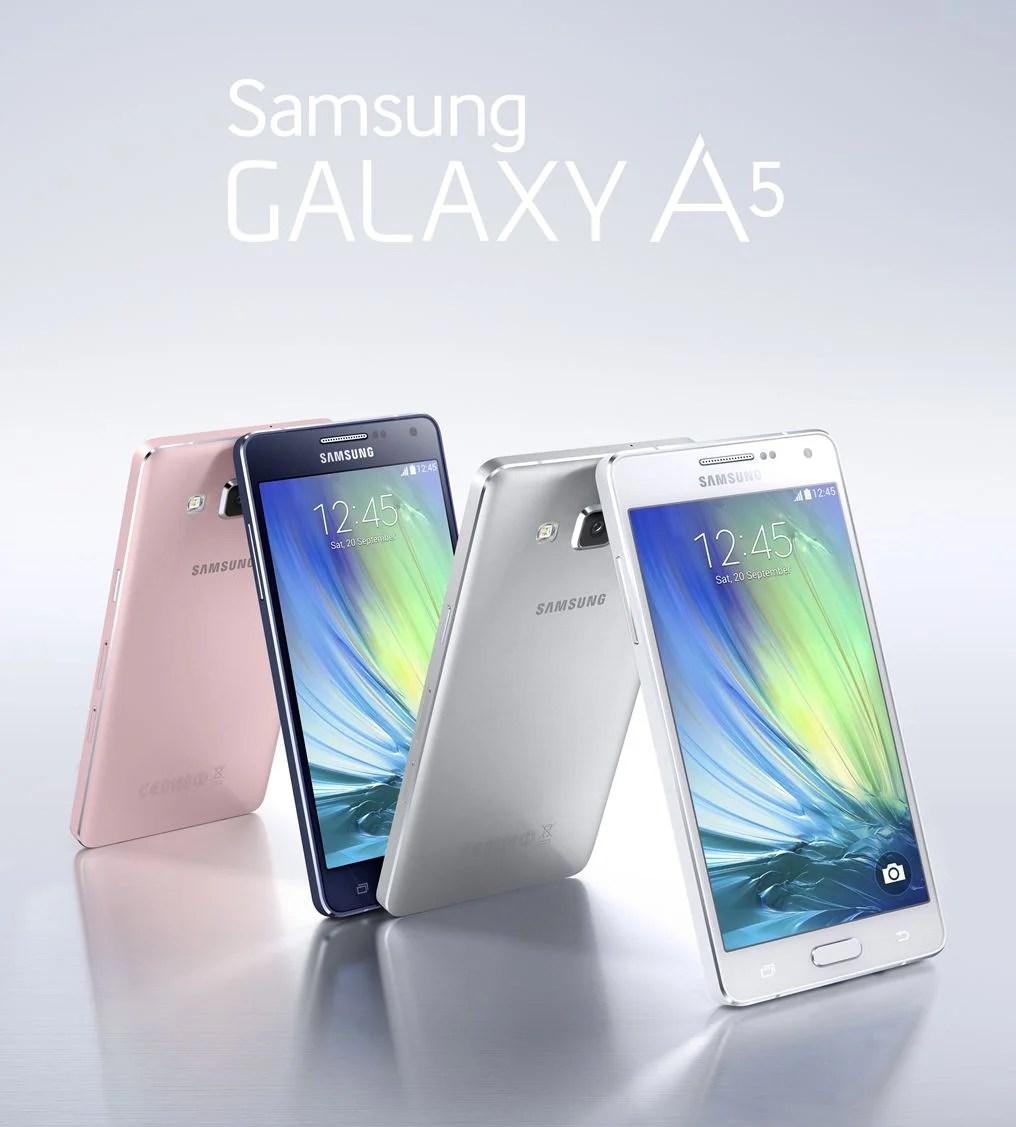 Galaxy A3 et A5 : les précommandes sont lancées
