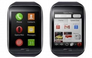 Samsung Gear S : Opera Mini est partenaire de la montre sous Tizen
