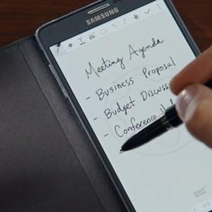 Galaxy Note 4 : Montblanc propose des stylets et étuis de luxe