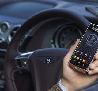Vertu lance un Signature Touch édition spéciale Bentley à 12 500 euros