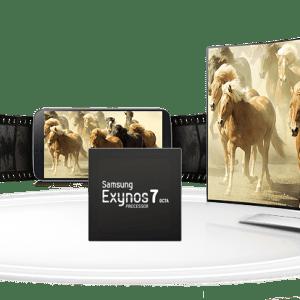 Samsung officialise l'Exynos 7 Octa avec des performances CPU et GPU en forte hausse