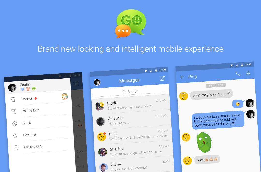 Go SMS Pro laisse accès à des fichiers (trop) privés de n'importe qui