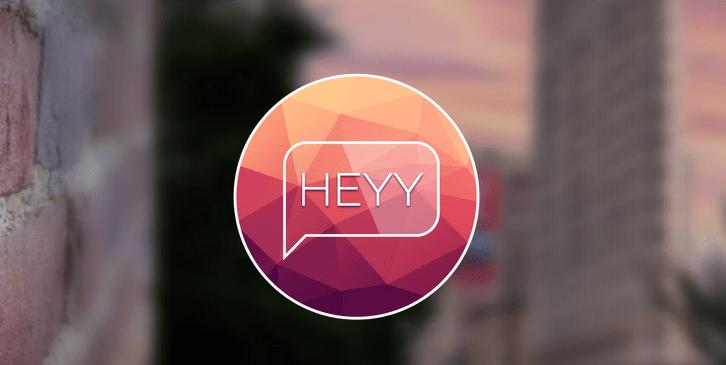 Heyy There : envoyez des messages surprises géolocalisés !