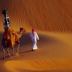 Street View s'aventure jusque dans les dunes du désert